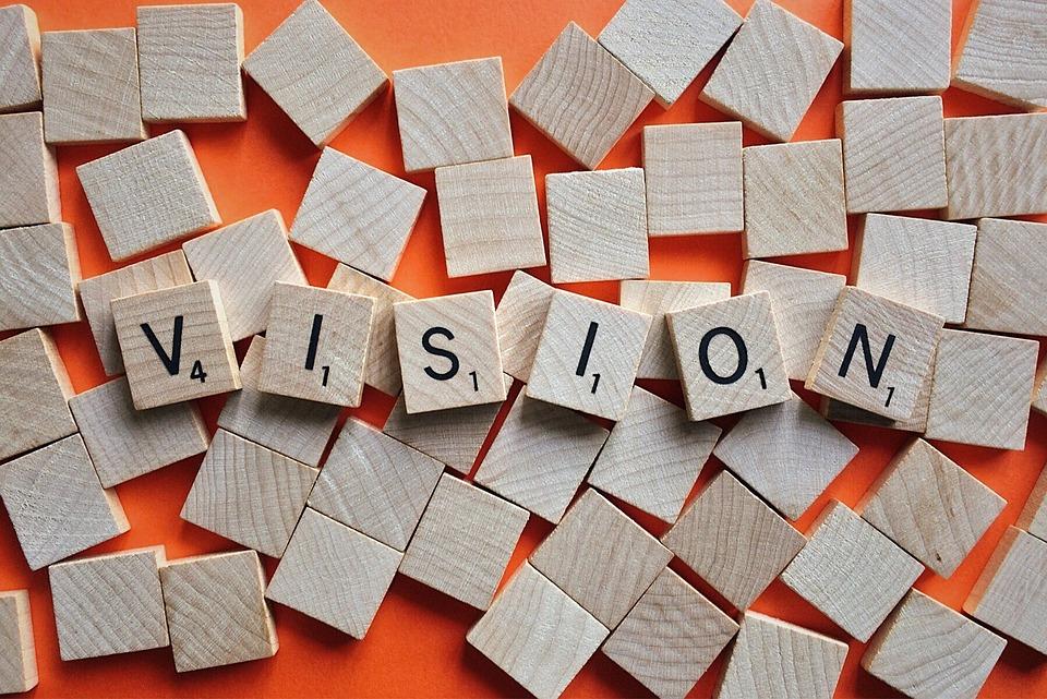 Scrabble pieces - Vision