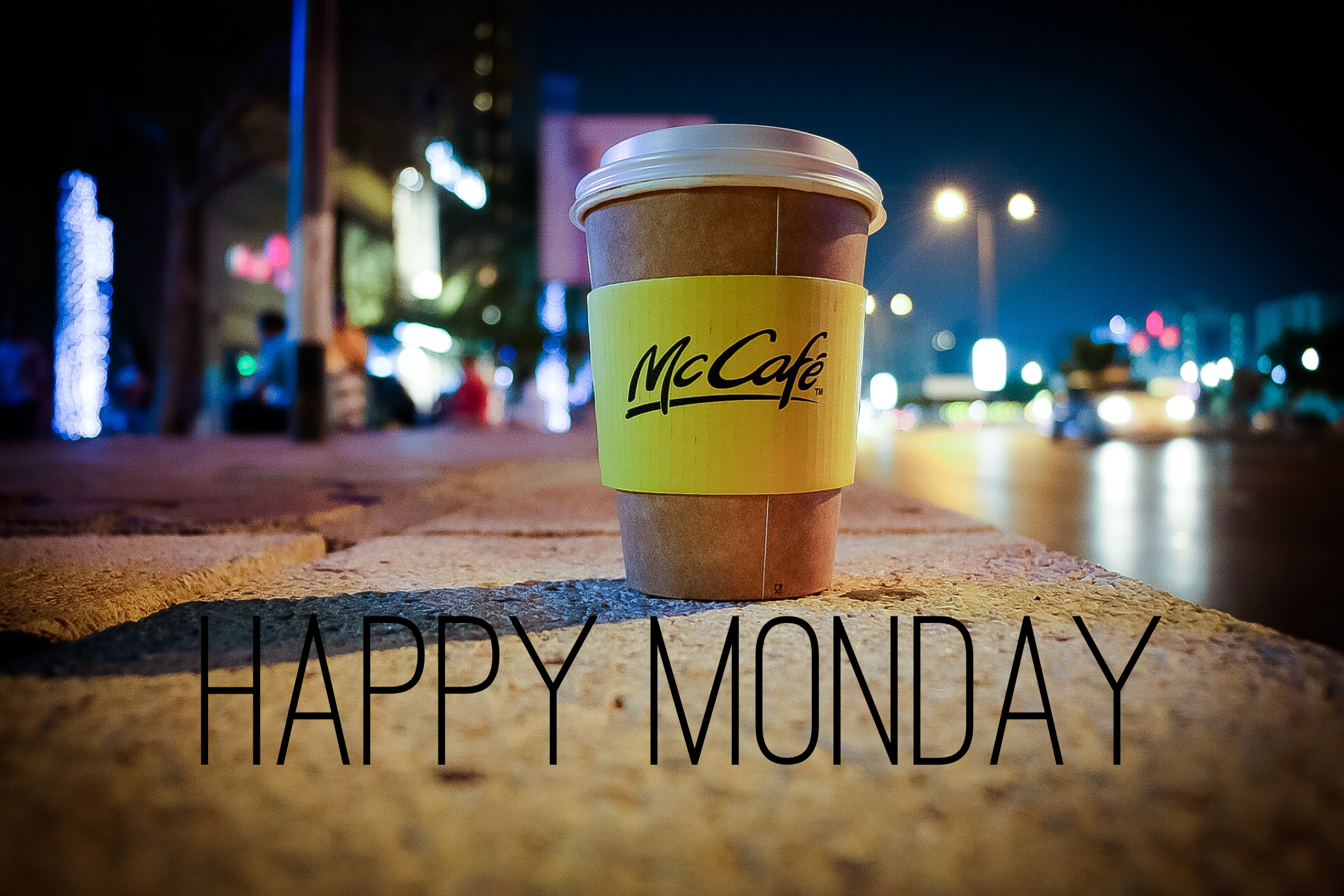 Happy Monday Cup of Coffee